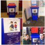 Moray School Bank Collection Bin